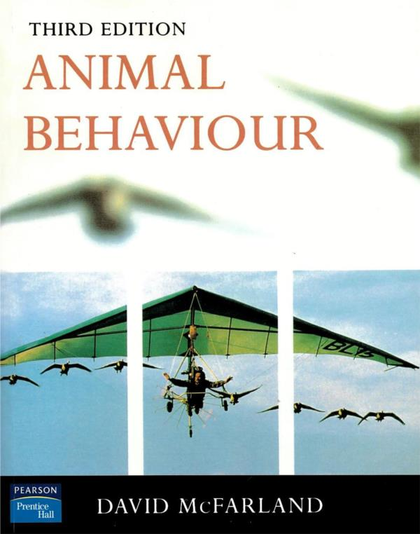 Animal Behaviour Third Edition
