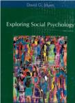 Exploring Social Psychology Third Edition