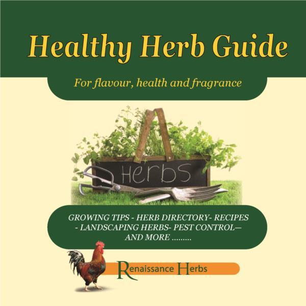 Healthy Herb Guide- PDF ebook