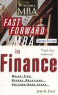 The Portable MBA: Fast Forward MBA in Finance - 2nd Edition